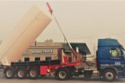 Transport materiałów sypkich przemysłowych i spożywczych