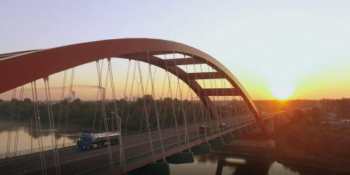 sunset bridge tir